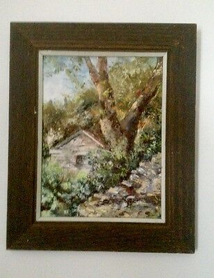 S. WALTERS Original Oil Painting very nice thick paint