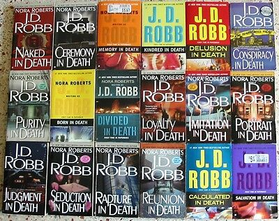 # 2 - 20 J.d. Robb Romance Books No Doubles Free Shipping