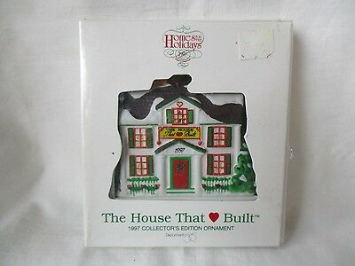 Ronald McDonald House Christmas Ornament Home For The Holidays Dept. 56 1997