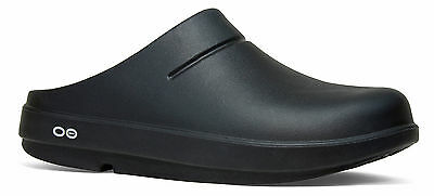 Oofos Ooclog Comfort Recovery Clog Matte Black 1200 Medium width Therapeutic