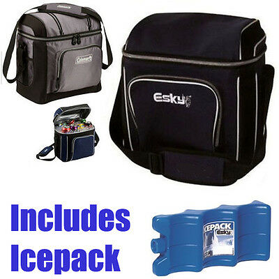Coleman Esky 16 Can (Includes Icepack) Soft Bag Cooler Chiller