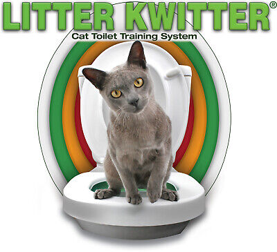 The Original Litter Kwitter Toilet for Cats ~ Authentic & Authorised!
