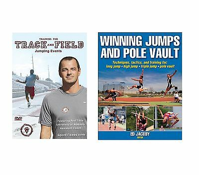 Winning Jumps and Pole Vault Book -Training for Track & Field Jumping Events DVD