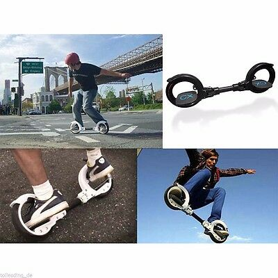 Wheel Scooter Smart Portable 2 Self Balancing Skateboard Freerider Skatecycle