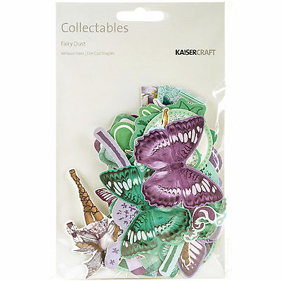 Fairy Dust Collectables Die Cut Shapes Kaisercraft 45+ Piece Pack