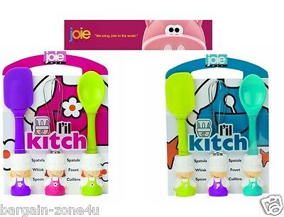 Joie L'il Kitch Kids Baking Utensils Cooking Set Home Food Cake Accessories