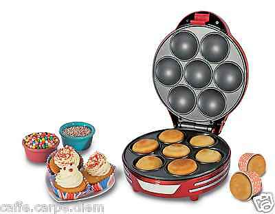 ARIETE 188 Muffin Cupcake Party Time - Macchina per Muffin piastra antiaderente