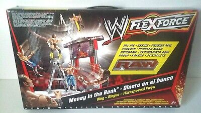 Wwe Flexforce Money In The Bank - Ring Accessoires Figurines Catch - Mattel 2010