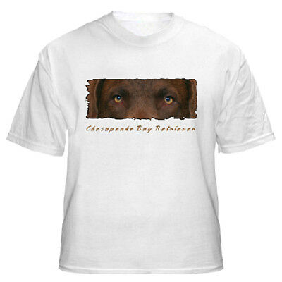 "Chesapeake Bay Retriever  "" The Eyes Have It "" Tshirt"