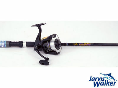 jarvis walker comet 6ft boat combo fishing gear rod & reel 182cm