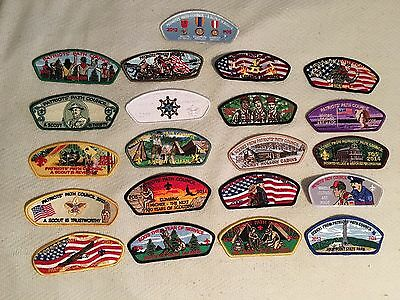 Patriots Path Council - FRIENDS OF SCOUTING 21 CSP Patch Lot Collection