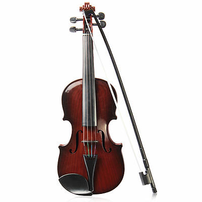 Full Size kids Simulation Toys Violin Demo Educational Musical Instrument 4/4