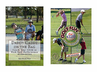 Golfing Instructional Book and DVD Gift Set for Children- Free Shipping