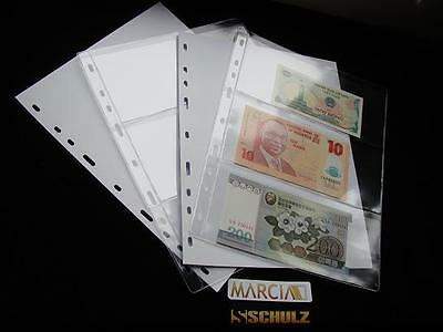 10 Pages For Schulz Banknote Albums Note Collection Collector Album M-3