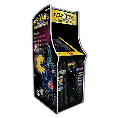 Pac-Man's Arcade Party Coin Operated Upright Arcade