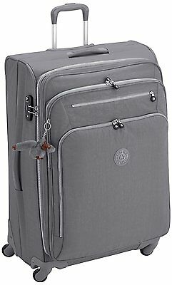 Kipling Youri Spin 78 Larger Trolley Bag Spinner 4 Wheeled Dusty Grey RRP£213