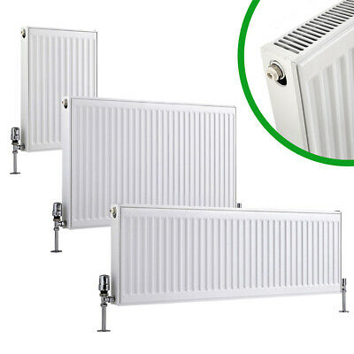 Compact Convector Radiator White Type 11 21 22 400mm 600mm Central Heating