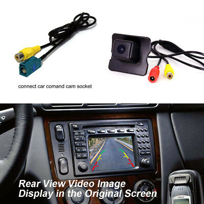 Car Rear View Reverse Hole Camera For Mercedes Benz M ML W164 Original Screen