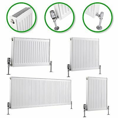 Type 21 P+ Compact Convector Radiator White 400mm 600mm Central Heating