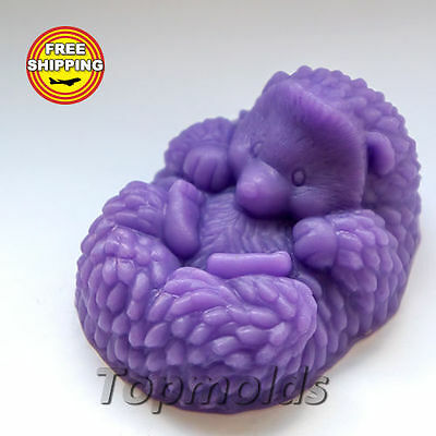 Hedgehog 2d Mold Soap Mold Silicone Molds Mold for Soap Mold