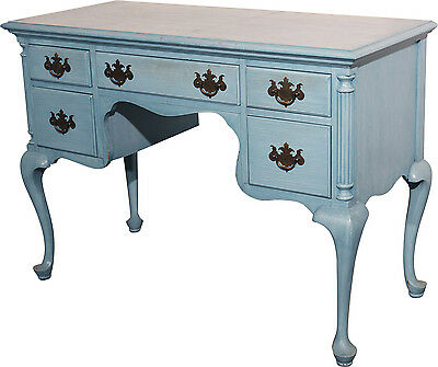 Antique Shabby Chic Painted Early American Federal Vanity
