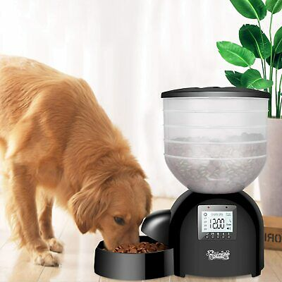 Qpets AF-200 Large Capacity Automatic Programmable Pet Feeder 10 lbs
