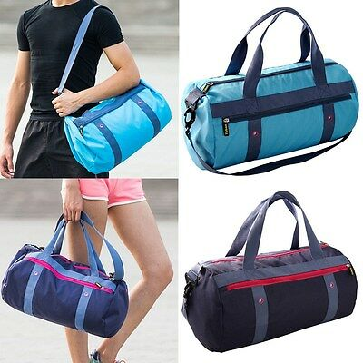Waterproof Gym Sports Duffle Travel Training Fitness Shoulder Bag Carry Hand Bag