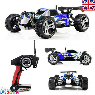 Wltoys A959 2.4G Radio/Remote Control RC Car Toy Model Scale 1:18 +2* Batteries