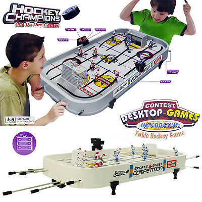 Ice Hockey Champion Kid Children Table Board Family Game Activity Play Set Toy