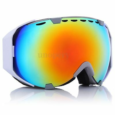 Ski Snowboard Double Lens Anti-Fog Goggles Winter Sporting Motorcycle Glasses