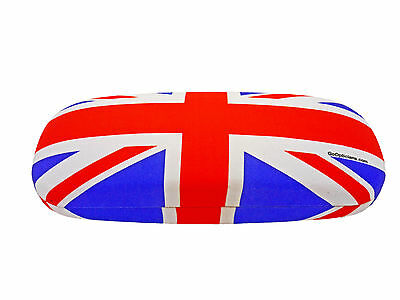 Fashionable GoOpticians Union Jack Hard Glasses Case For Reading Spectacles