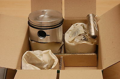 Fiat 128 3P-Rally-Coupe-Special X19, pistons, rings, 86mm, 86,40mm, New! Kolben.