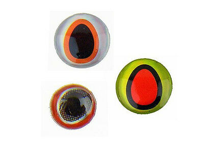 3D Fishing Lure Eyes 4mm / various colors / about 135pcs. per pack!!!