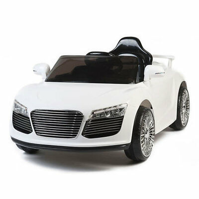 New Audi Style 12v Kids Electric Ride on Car with Remote Control - White
