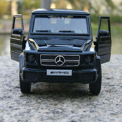 Mercedes-Benz G63 AMG Car Model Black 1:35 Toy Collections & gifts Alloy Diecast
