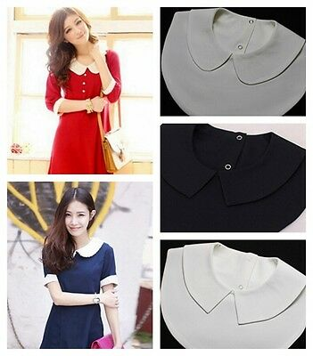 Detachable Fake Collar Women Girl Dickey Blouse Shirt Pan Fashion Collar Tips