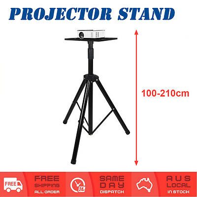 Adjustable 100-210cm Projector Notebook Speaker Stand Portable Tripod Upto 30kg