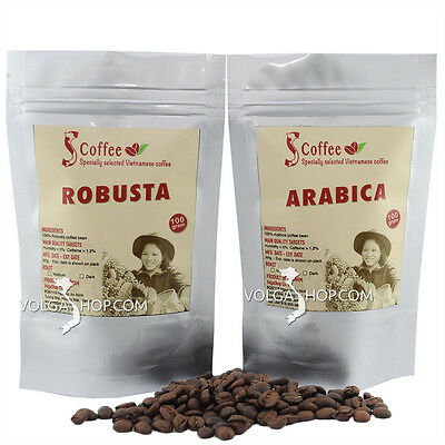 Specially Selected Vietnamese Coffee Bean Ground Roasted Arabica Robusta 200g
