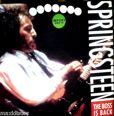 LPx2 - Bruce Springsteen - The Boss Is Back (Live USA,1992) 2 VINYLS MINT*NUEVO