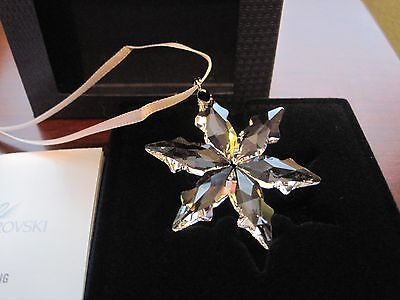 Swarovski Crystal 2015 Annual Christmas LITTLE STAR Ornament Item 5100235