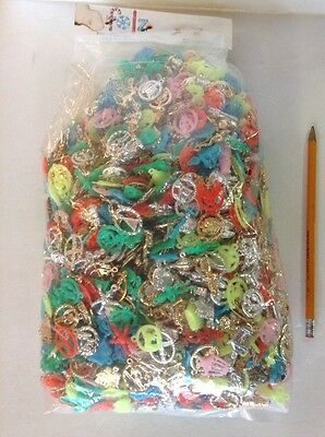 Bag Of 2000 1960s FOLZ Vending Charms/premiums Plastic & Metal Clad Good Variety