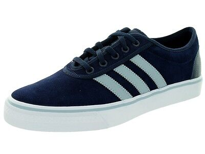 adidas adi-ease blue lace up suede skateboarding trainers shoes C76832 Size 6