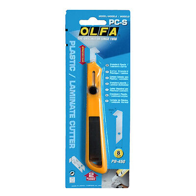 OLFA 11mm Plastic Cutter PC-S/Included 2 Spare Blades