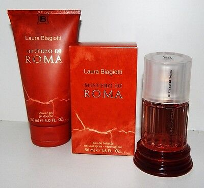 MISTERO DI ROMA LAURA BIAGIOTTI 50ml EdT SPRAY+ 150ml SHOWER GEL