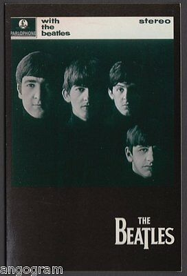 MODERN POSTCARD - The Beatles - With The Beatles X647