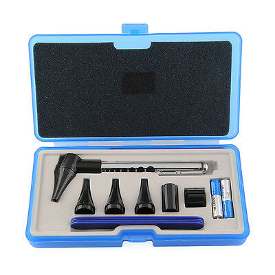 Profi Ophthalmoscope Otoscope Stomatoscop Diagnostik-Set Kit Für Ohr Augen Mund