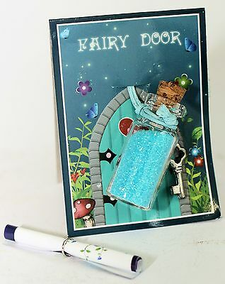 FAIRY PIXIE Door Magic DUST Sprinkle Magic ENCHANTING FAIRY DUST in GLASS BOTTLE