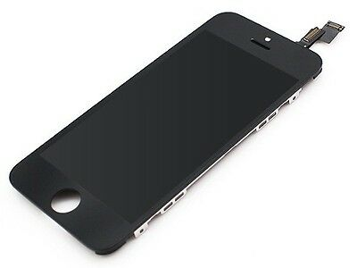 FOR iPHONE 5S LCD TOUCH SCREEN DISPLAY DIGITIZER GLASS ASSEMBLY UNIT black