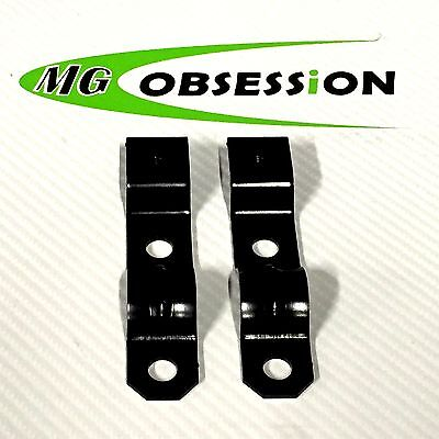 MGF / MG TF / LE500 EXHAUST BACK BOX HEAT SHIELD BRACKETS WDB100040 x 2