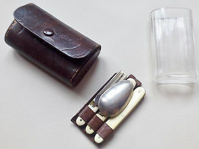 Antique Military Officers travel CAMPAIGN SET